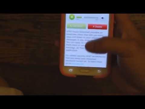 AT&T Samsung Galaxy S5 - Visual Voicemail Setup
