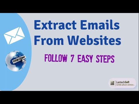 Extract Emails From Websites Follow 7 Easy Steps