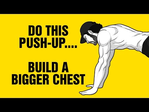 Simple Push-Up Variation To Build a Bigger Chest at Home : Hollow Hold Push-up