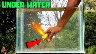 MATKA ANAAR UNDER WATER | पानी में चलाया मटका अनार