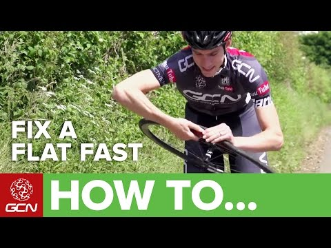 Fix A Flat Fast – How To Change An Inner Tube In Record Time