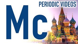 Moscovium (NEW ELEMENT) - Periodic Table of Videos