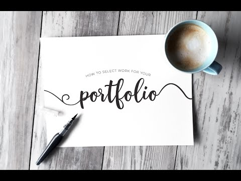 Selecting Work for your Graphic Design Portfolio