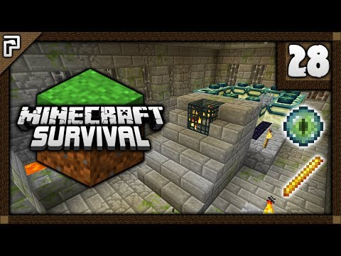 💎 The Nether Fortress & Stronghold Mega-sode! | Let's Play Minecraft Survival 1.12