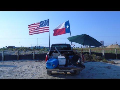 2017 GALVESTON BEACH, GALVESTON ISLAND, TEXAS, U.S.A.