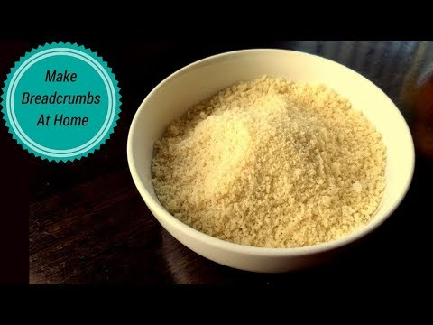 How To Make Bread Crumbs At Home | Homemade Bread Crumbs Recipe
