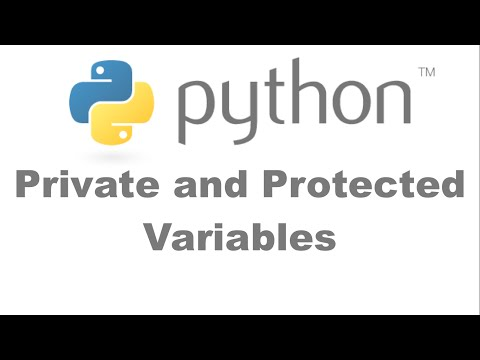 Private and Protected Variables in Python [HD 1080p]