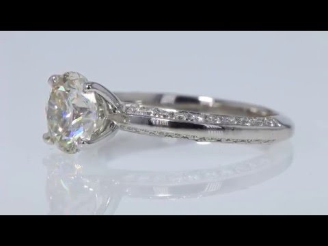 1.65CT Round Brilliant Diamond Engagement Ring GIA