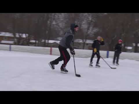 Lakeville Outdoor Ice Rinks Open - January 2018