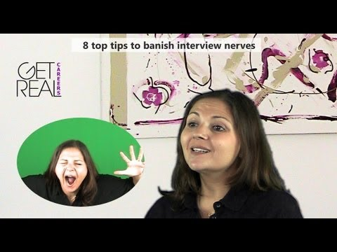 8 top tips to banish interview nerves