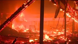 Challenges facing firefighters battling California