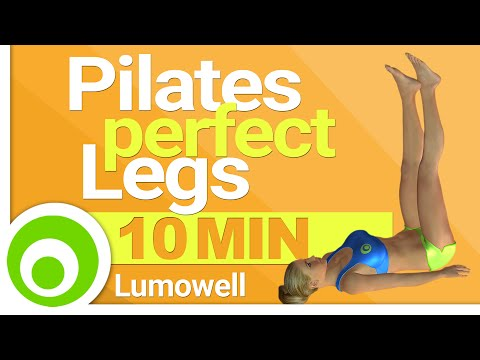 Pilates Workout to Get Perfect Legs