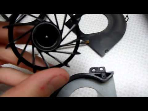 How to repair a brushless laptop fan that doesn't spin