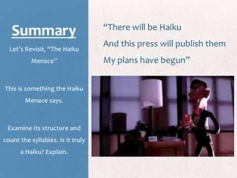 Original Haiku Lesson Plan PPT COPY