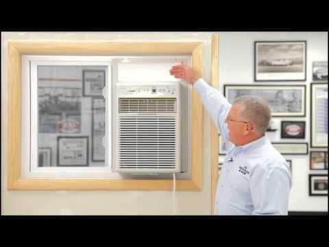 Air Conditioner - Sliding Window Installation