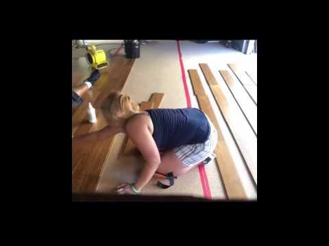 installing hardwood bamboo flooring on concrete diygirL