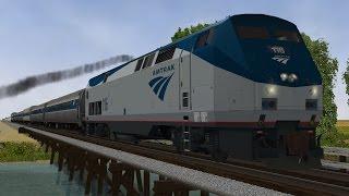 Open Rails 3D Cab Test - 3DTrains F-Unit - PakVim net HD Vdieos Portal