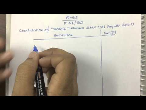 VAT Practical Question 65