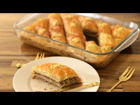 Baklava Recipe | How to Make Baklava
