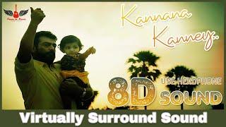 Kannaana Kanney  8d Audio Song  Viswasam  Ajith Kumar Nayanthara  Tamil 8d Songs