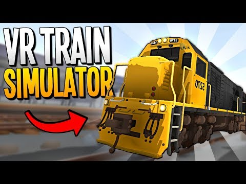 AMAZING TRAIN CHASES AND CRASHES IN VR - Rolling Line VR - VR HTC Vive
