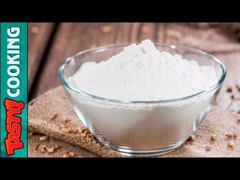 Homemade SELF RAISING FLOUR Recipe ♥ SELF RAISING FLOUR Substitute ♥ Tasty Cooking