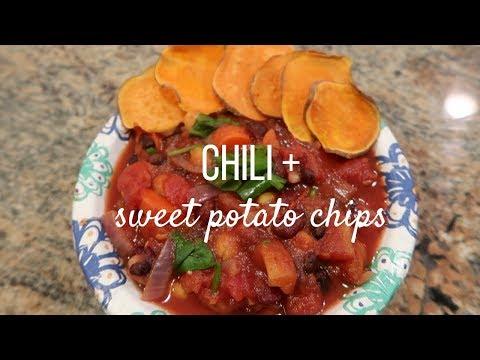 Chili + Sweet Potato Chips
