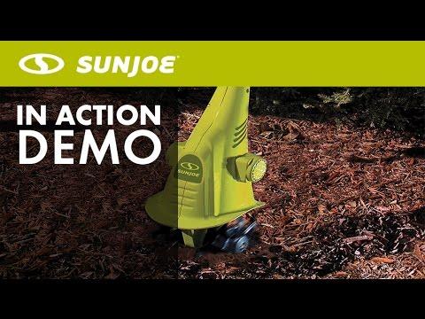 TJ599E - Sun Joe Aardvark 2.5 AMP Electric Cultivator - Live Demo