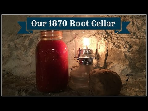 Our 1870 Root Cellar~