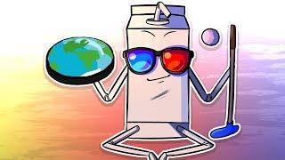 FLAT EARTH Confirmed! - Golf it
