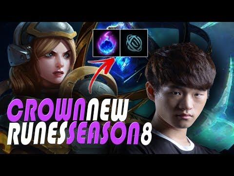 SSG Crown Lux Mid - Season 8 New Runes