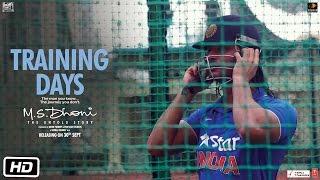 M.S.Dhoni - The Untold Story | Training Days | Sushant Singh Rajput