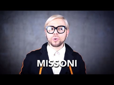 How to pronounce MISSONI