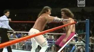 Ravishing Rick Rude Vs Brutus The Barber Beefcake 1989