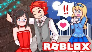 My Best Friend Caught My Ex Boyfriend Kissing Another Girl...   Roblox Royale High Roleplay