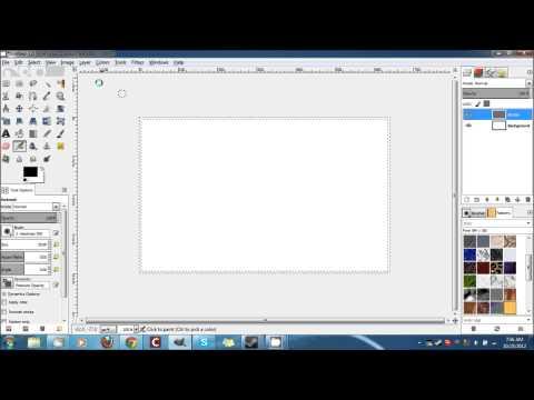 GIMP Tutorial - How to Add a Border