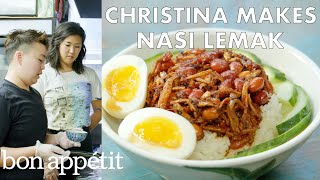 Christina Makes Nasi Lemak at Kopitiam | From Outside the Test Kitchen | Bon Appétit