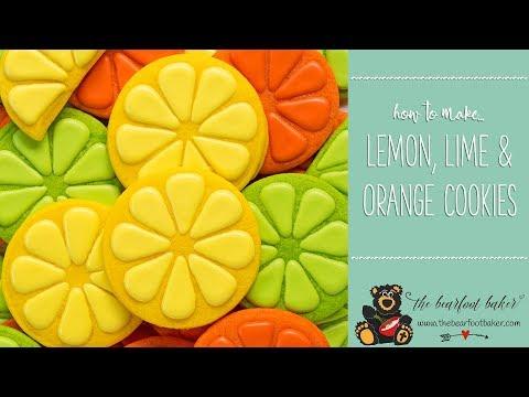 How to Make Lemon, Lime, and Orange Cookies