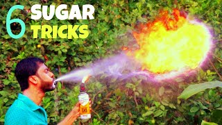 6 Awesome Sugar Tricks    Science Experiments With Sugar