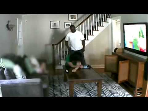 Home Invasion CAUGHT ON TAPE in Millburn NJ Woman gets BRUTALLY BEAT in front of daughter