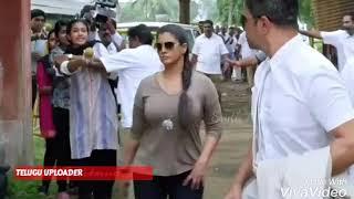 Varalaxmi SarathKumar HOT BOOB Show In Slow Motion