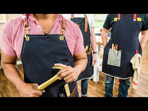 How To - Ken Wingard's Fashionable and Functional Aprons - Home & Family