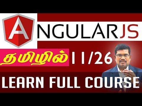 #11 AngularJS Foundation in Tamil