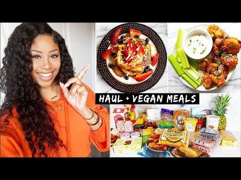 HUGE Trader Joe's Grocery Haul + VEGAN Meal Ideas! 👍