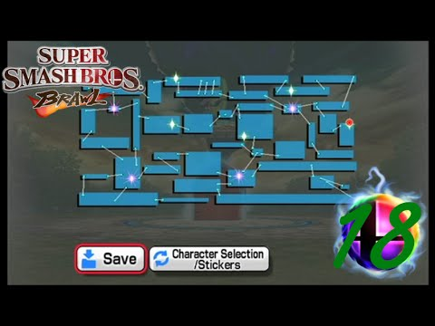 Super Smash Bros. Brawl - Subspace Emissary - 18 - Opening the Final Door
