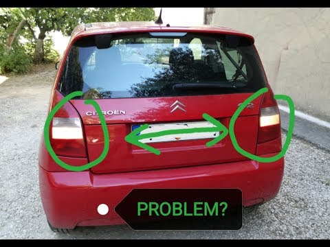 Citroen C2 1.1 - How to replace reverse lights switch
