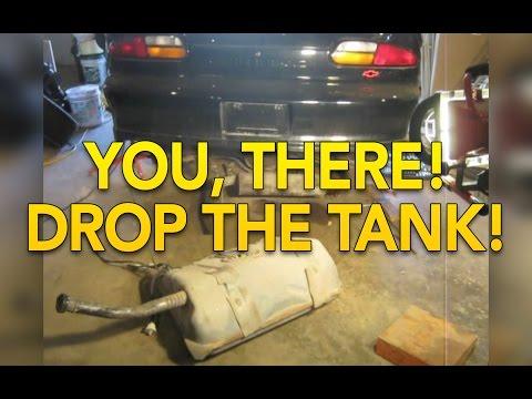4th Gen Camaro Firebird Gas Tank Drop - Fuel Pump Replacement 1993-2002