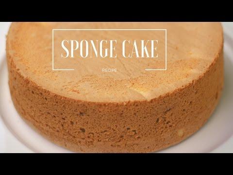 Vanilla sponge cake/Sponge cake