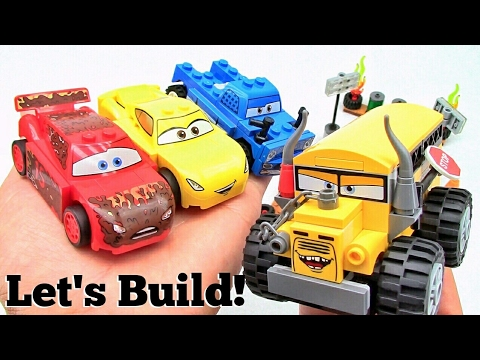 LEGO Cars 3: Thunder Hollow Crazy 8 Race 10744 - Let's Build!