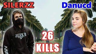 SILERZZ & Danucd - 26 KILLS - M416 + Kar98k -  DUO vs SQUADS! - PUBG